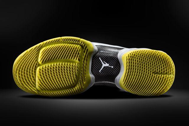 Air Jordan Melo 10 Yellow Black Outsole