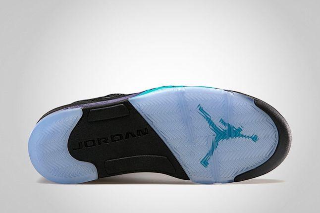 Air Jordan 5 Black Grape Sole 1