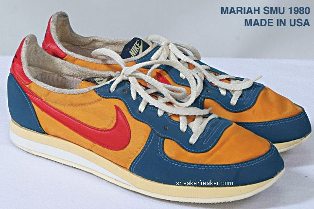 Vintage Collector Lindy Darrell Nike Runners 20