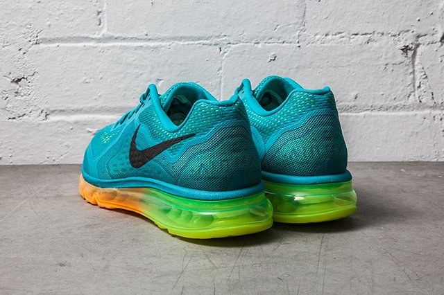 Nike Air Max 2014 Turbo Green Atomic Mango 3