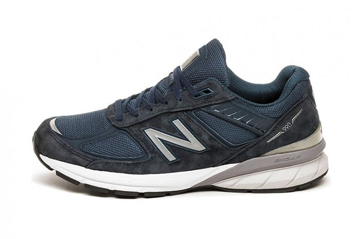 New Balance 990V5 Navy M990Nv5 Release Date Lateral