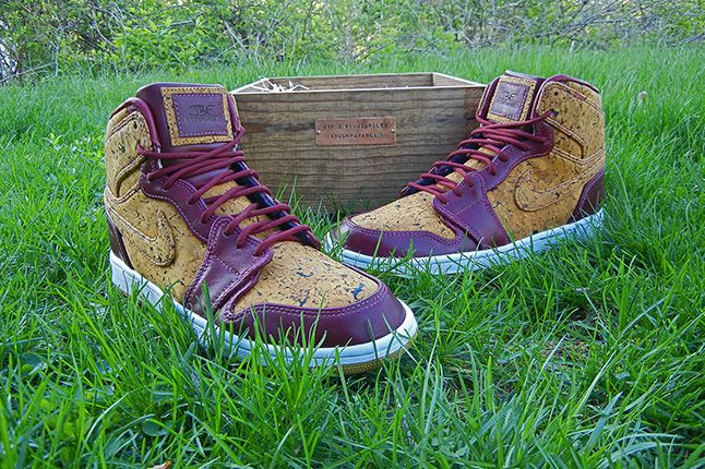 Jbf Customs Jordan1 Venetto Cork 1
