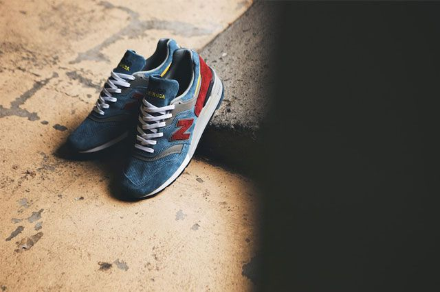 New Balance Teal Burgundy 1