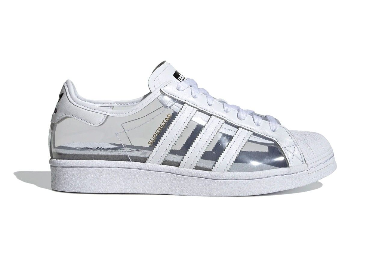 Translucent adidas Superstar