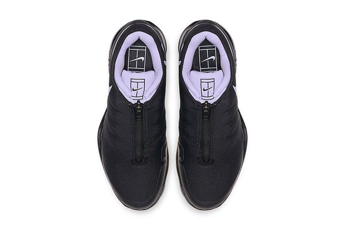 Nike Air Zoom Vapor X Glove Black Purple Bq9663 001 Release Date Top Down