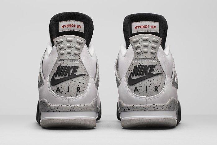 Air Jordan 4 White Cement3