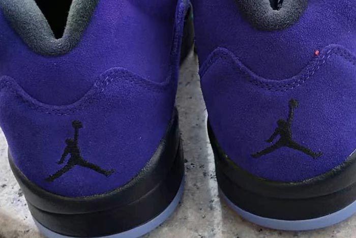 Air Jordan 5 Alternate Grape Heels