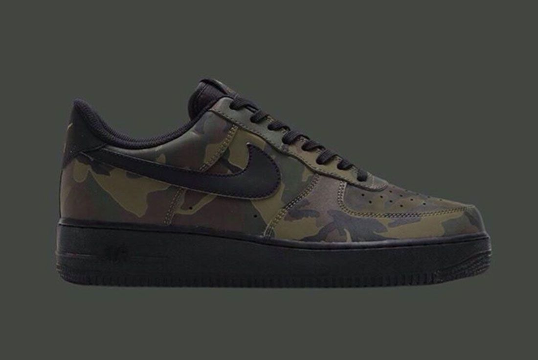 Nike Air Force 1 Camo Reflective 4