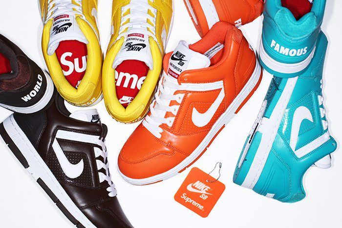 Supreme X Nike Air Force 2 6