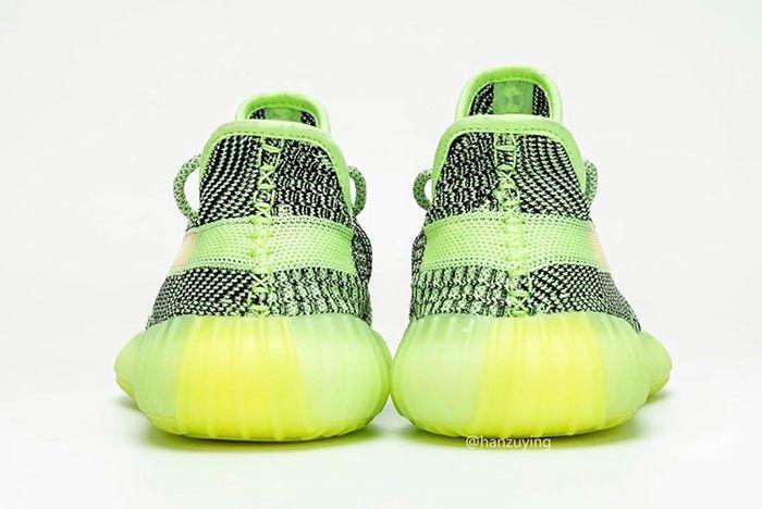 Adidas Yeezy Boost 350 V2 Yeezreel Reflective Glow Release Date 7 Heel