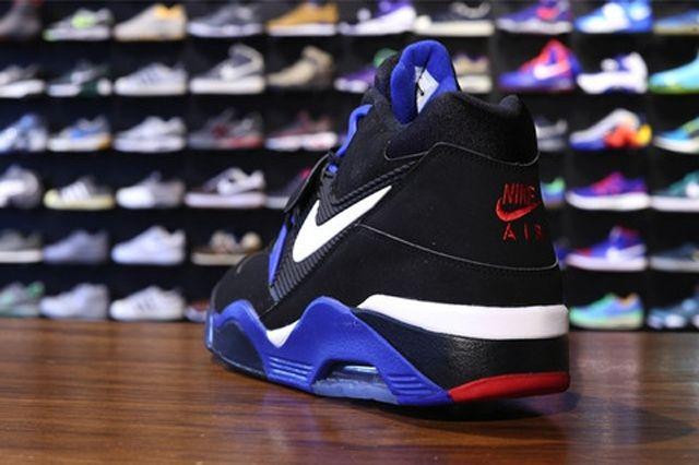 Nike Air Force 180 Black White Sport Royal 1