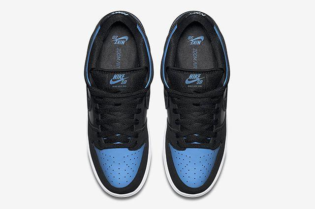 Nike Sb Dunk Low Pro Blackuniversity Blue4