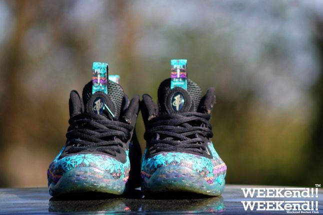 Nike Foamposite Rocket Boy Nift Sunset Strip Pair 1