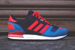 Adidas Zx 700 Navy Blue Red Thumb