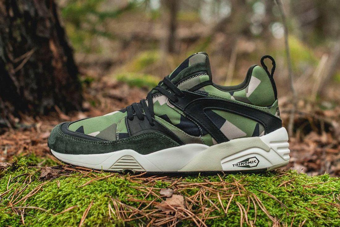 Material Matters Camo Sneakersnstuff