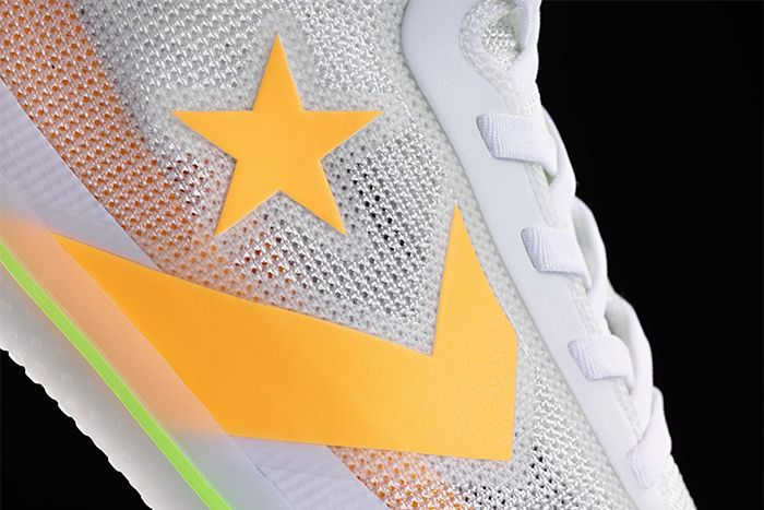 Converse All Star Pro Bb Hyperbrights Pack White Volt Release Date Closeup