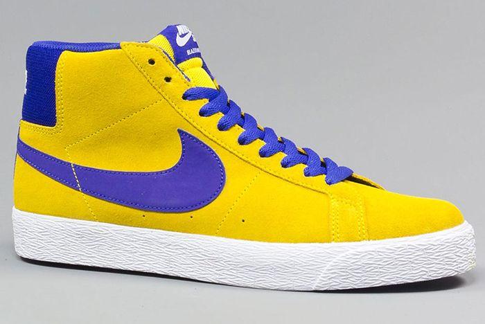 Nike Sb Blazer Mid Tour Yellow4