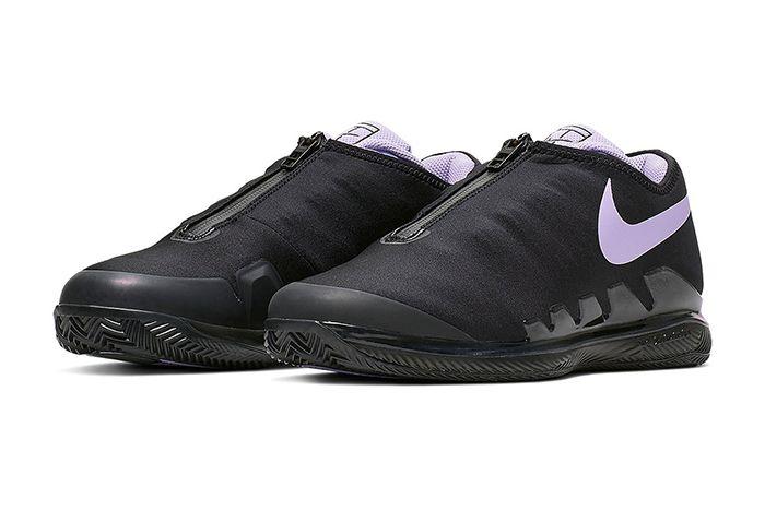 Nike Air Zoom Vapor X Glove Black Purple Bq9663 001 Release Date Pair