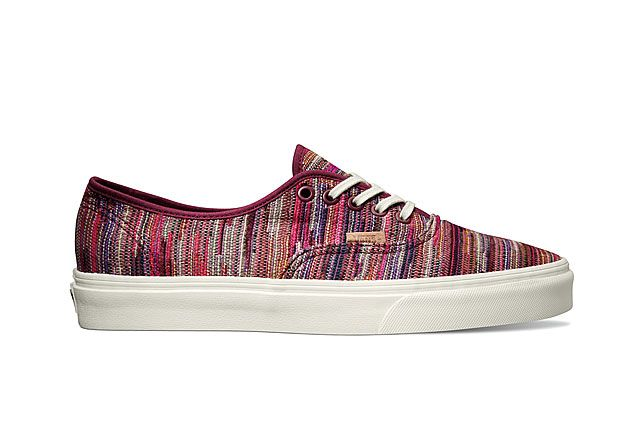 Vans California Collection Authentic Ca Italian Weave Rhododendron 2014