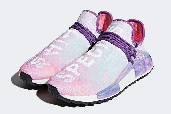 Pharrell X Adidas Nmd Hu Trail Holi Pink Glow 2
