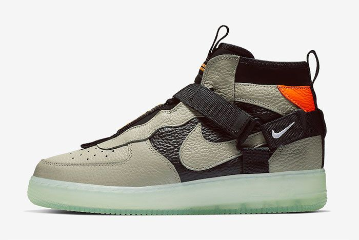 Nike Air Force 1 Mid Utility Spruce Fog Aq9758 300 Release Date Price