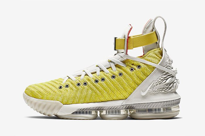 Harlems Fashion Row Nike Lebron 16 Bright Citron Ci1145 700 Release Date Lateral