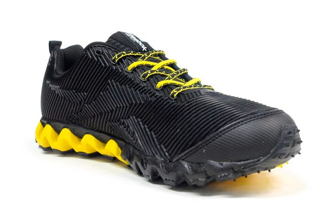 Reebok Zigmaze Quater Toe Black Yellow 1