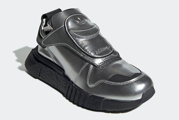 Adidas Futurepacer Silver Metallic Ee5002 Front Angle