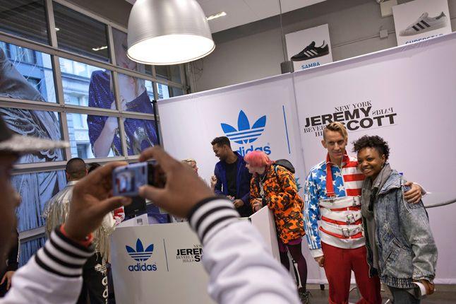 Jeremy Scott In Store Adidas Originals Soho New York 53 1