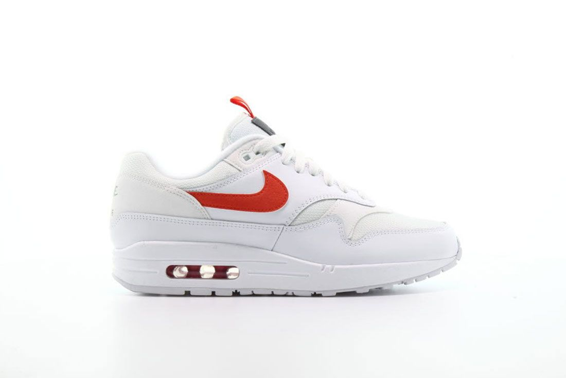 Nike Air Max 1 Se White Teamorange
