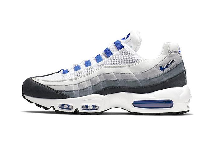 Nike Air Max 95 Sc Racer Blue Side Shot 4