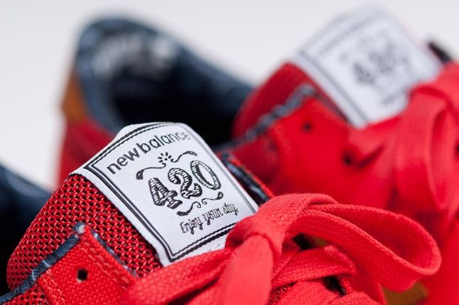Nb X Herschel Supply Company Red Tongue 1