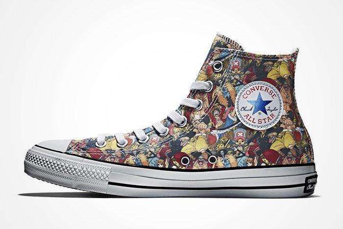 One Piece X Converse Chuck Taylor All Starfeature