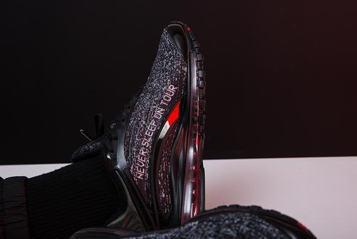Skepta X Nike Air Max Delux On Foot 2