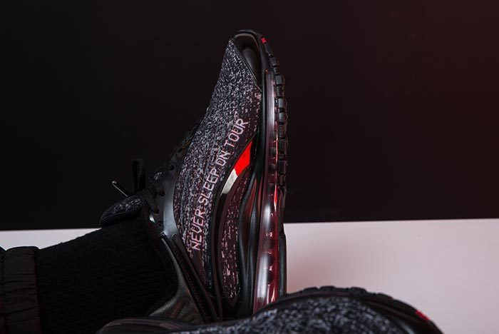 Skepta X Nike Air Max Delux On Foot 2