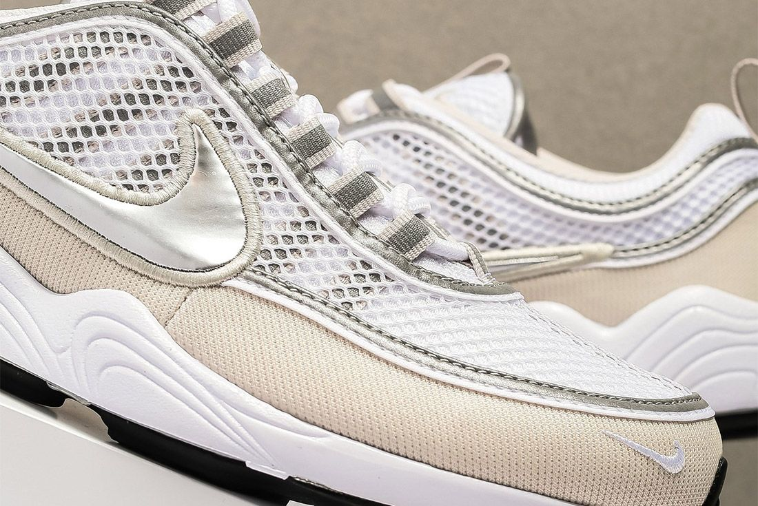 Nike Air Zoom Spiridon16 926955 1065 White Metallic Silver Sneaker Freaker 3