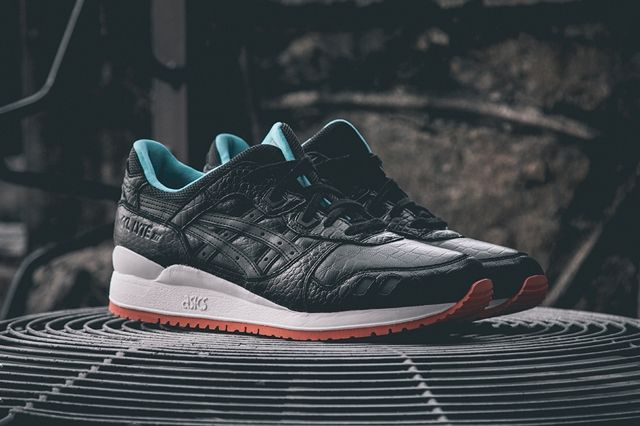 Asics Gel Lyte Iii Miami Vice Black 3