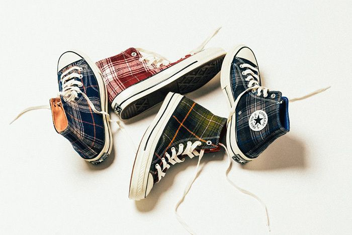 Converse Chuck Taylor All Star 70 Hi Plaid 1
