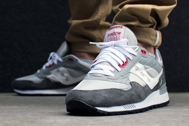 Saucony Shadow 5000 Pack Red Grey