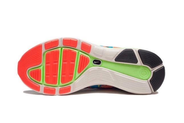 Nike Lunarglide5 Tiger Reef Sole Profile