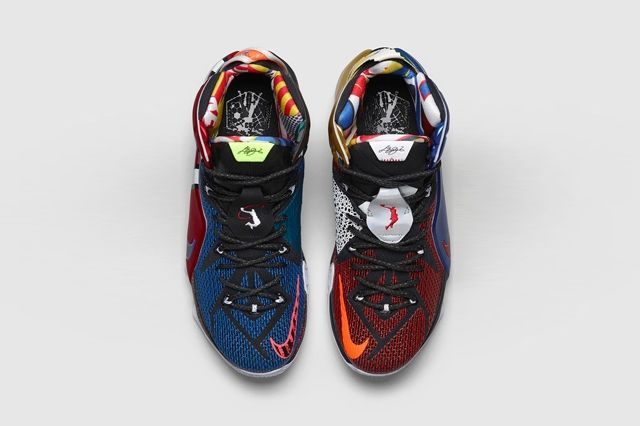 Nike Lebron 12 What The 3