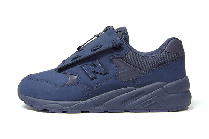 New Balance Mt580 Gore Tex Navy Release Date Lateral