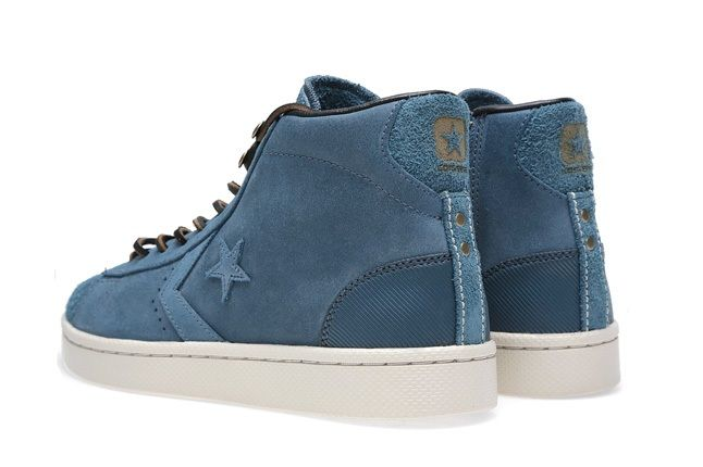 Converse First String Pro Leather Mid Zip 5