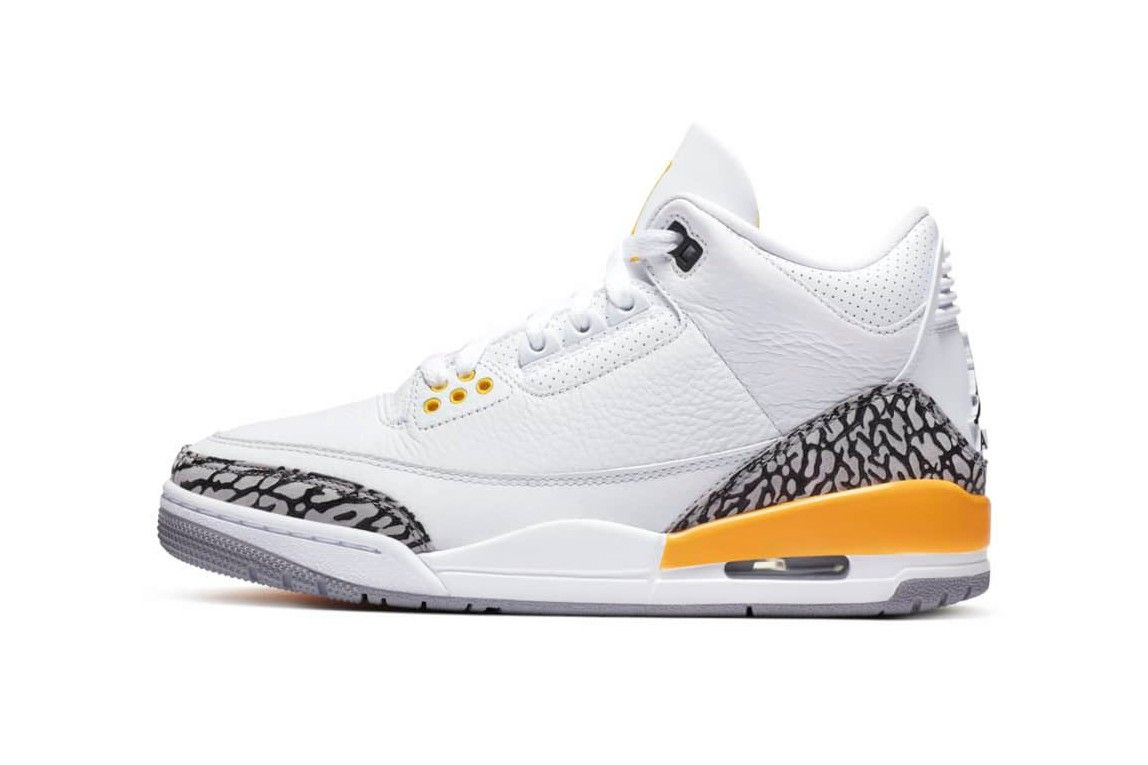 Air Jordan 3 Laser Orange Left