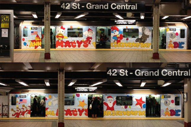 Kaws Nyc Mta Subway S Train Stickers End To End 1