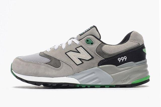 New Balance 99 Grey Sea Green 4