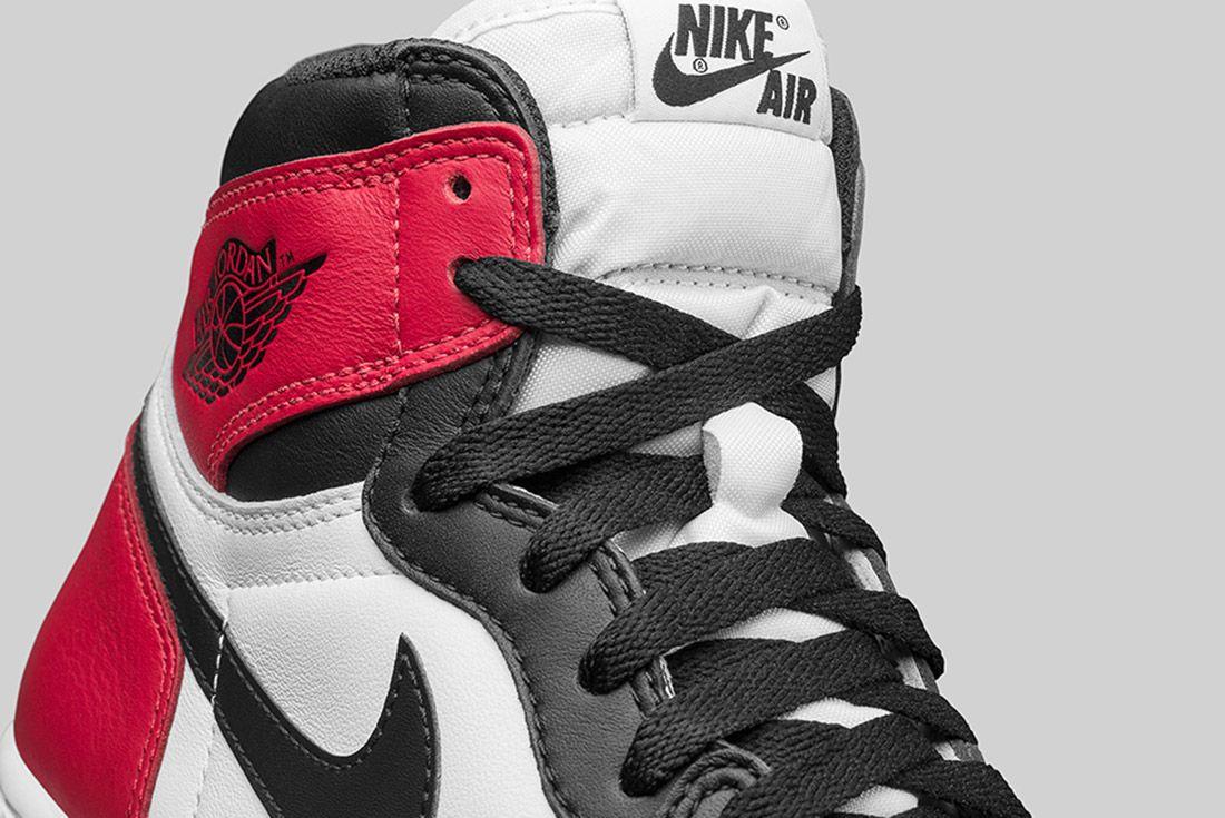 Air Jordan 1 Blck Toe 1