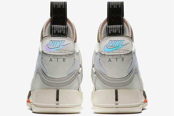 Air Jordan 33 Vast Grey Heel