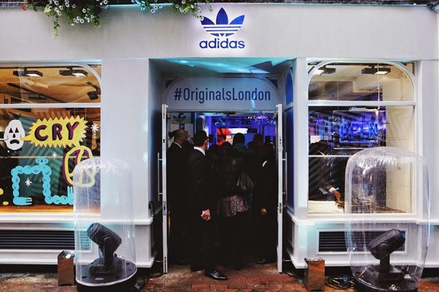 Adidas Originals London Store Opening 3