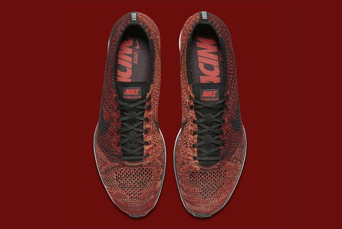 Nike Flyknit Racer Burgundy 5